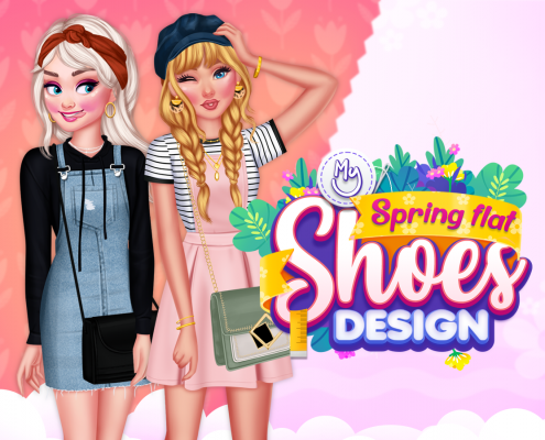 My Spring Flat Shoes Design