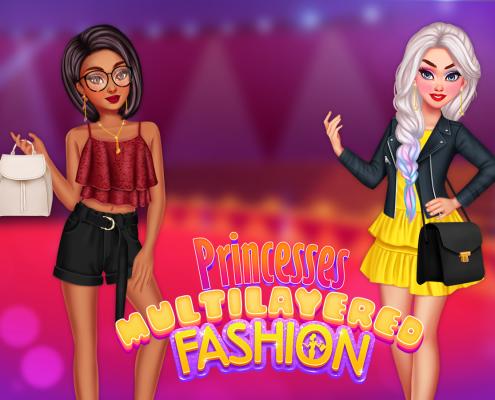 Princesses Multilayered Fashion