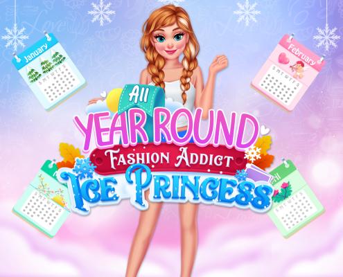 All Year Round Fashion Addict Ice Princess