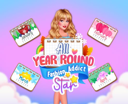 All Year Round Fashion Addict Star