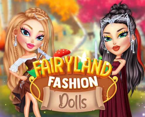 Fairyland Fashion Dolls