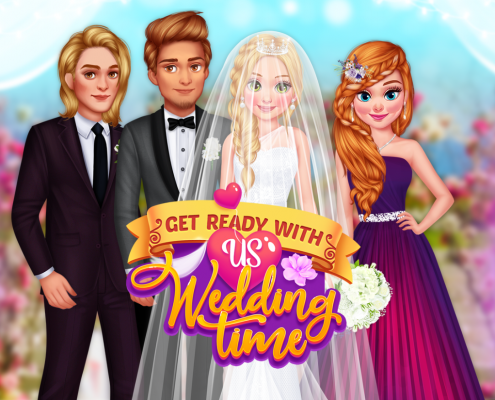 Get Ready With Us Wedding Time
