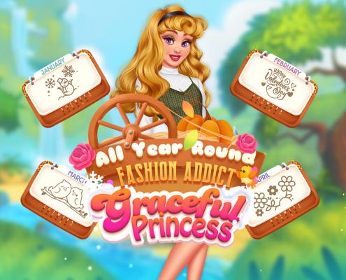 All Year Round Fashion Graceful Princess