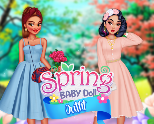 Spring Baby Doll Outfit
