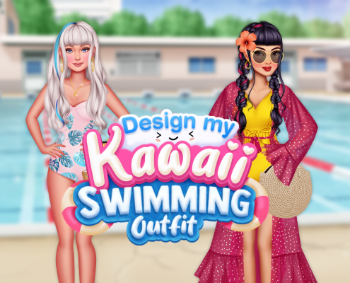 Design My Kawaii Swimming Outfit