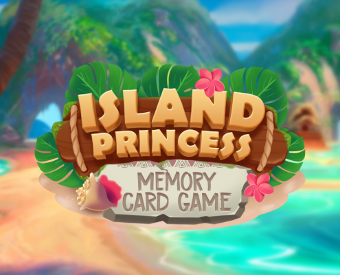 Island Princess Memory Card Game